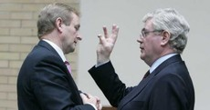 Caption competition: When Eamon blessed Enda