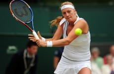 Sharapova advances to meet Kvitova in Wimbledon final