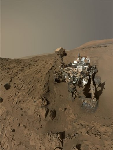 'The far frontier': NASA Curiosity rover makes it to Martian mountain