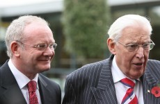 """I have lost a friend"": McGuinness pays tribute to the late Ian Paisley"