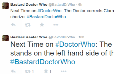 Parody Twitter account reimagines Doctor Who as THAT guy