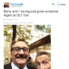 People are freaking out about this Chuckle Brothers court selfie