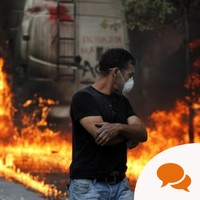 Eyewitness: Tear gas and tension in Syntagma Square