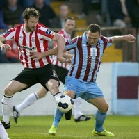 Eight-man Drogheda earn unlikely draw with Derry