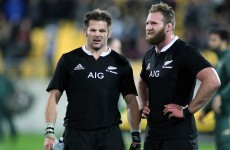 Take a moment to luxuriate in Kieran Read's sleight of hand offload for this try
