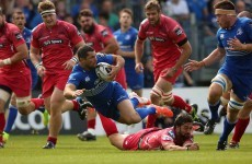 Six-try Leinster obliterate Scarlets in RDS return
