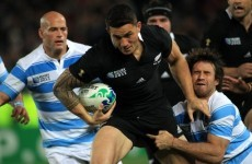 Nonu injury opens All Blacks door for Sonny Bill