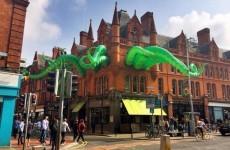 Dublin's giant octopus now has a name