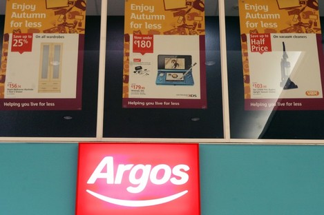 Argos is hiring 500 temporary workers to cope with the Christmas rush.