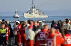 Fears for 500 on sunken boat as two Palestinian migrants are rescued in Mediterranean