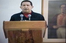 Chavez reveals cancer battle