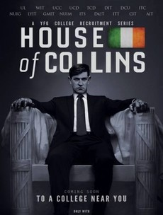 Blood-soaked hands of Michael Collins in Young Fine Gael recruitment poster is 'satire'