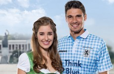 TSV 1860 Munich get ready for Oktoberfest with brilliant lederhosen-inspired kit