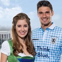 TSV 1860 Munich get ready for Oktoberfest with brilliant lederhosen-inspired kit
