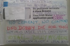 Here's the best Irish Water protest so far