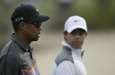 Tiger laughs off Rory's suggestion that he's coming to the end of his career