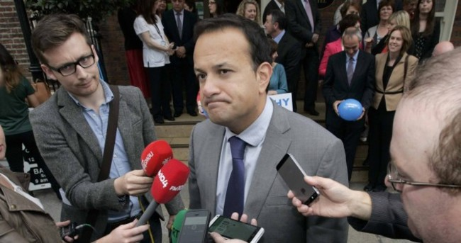'I wouldn't dare do such a thing': After Enda's scolding, Leo isn't talking about the Budget this week