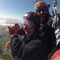This 78-year-old granddad from Limerick who did a skydive is an amazing person