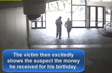 Someone stole an autistic man's birthday money... so police raised €1,000 as a surprise present