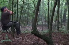 Man calls out to coyotes in woods, gets terrifying response