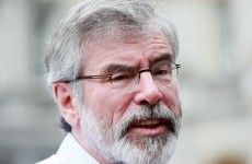 Ask him any way you like, Gerry still isn't weighing in on the Scottish Question