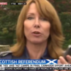 "Kay Burley caught calling Scottish campaigner a ""knob"" on Sky News"