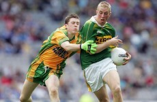 The day Michael Murphy's Donegal lost to David Moran's Kerry in the minor semi-final