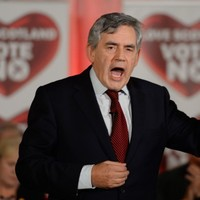 Gordon Brown gave a Scottish referendum speech - and people were shocked at how good it was