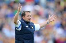 Davy wishes Podge the best but says no dual players in 2015