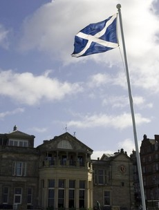 There's another vote in Scotland today... this one impacts on lady golfers