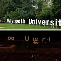 New Maynooth University sign lasts ONE night before being wrecked