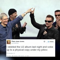 This is what happens when you delete the new U2 album