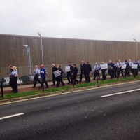 Both sides 'disappointed' as officers picket outside Cloverhill prison