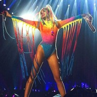Miley Cyrus in trouble for twerking on the Mexican flag with a prosthetic arse