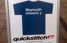 Local business cashes in on Maynooth University sign debacle