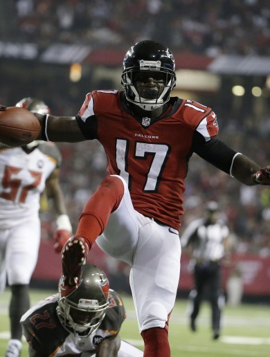 While you were sleeping, the Atlanta Falcons absolutely walloped the Buccaneers