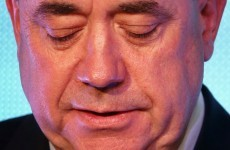 Alex Salmond is resigning as Scotland's First Minister