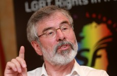 Gerry Adams is off to New York to see the Clintons tomorrow - but he's flying economy class