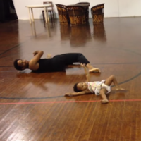 Professional dancers follow a 2-year-old's choreography, and it's adorable