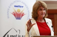 Joan Burton heckled at trade union meeting on homelessness