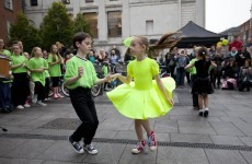 Culture Night: Star Wars on the bagpipes, Bertie Ahern's portrait and dancing in the rain