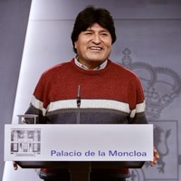 Bolivia president says he wants to open a barbecue restaurant when he retires from politics