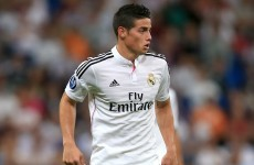 James Rodriguez's first La Liga goal was a 20-yard smasher