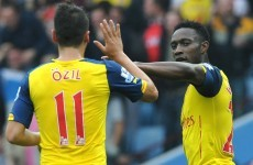 Instrumental Özil and Welbeck respond to critics in victory over Villa