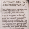 Letter to The Guardian hilariously describes how mobile phone almost killed old lady