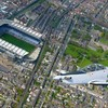 Flying high... here's Croke Park before today's All-Ireland excitement