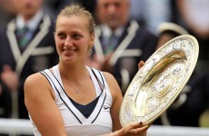 Superb Kvitova cruises to Wimbledon title