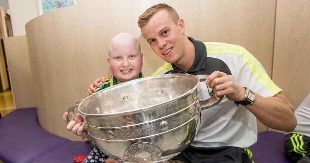 Photos: Kerry take the Sam Maguire to Crumlin Children's Hospital