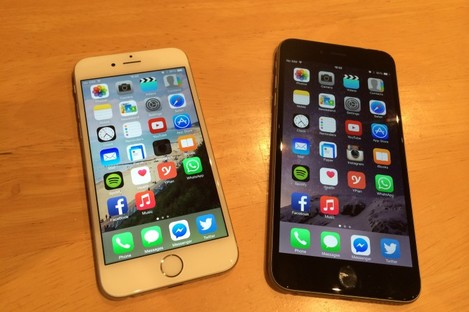The iPhone 6 and 6 Plus