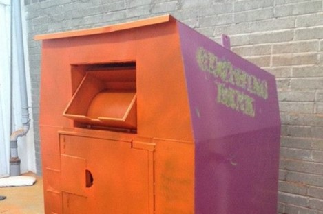 Do you own this recycling bin? The gardaí want to speak to you.